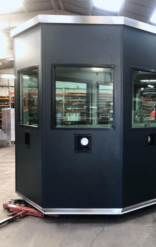 Toltec Secure - tôlerie industrielle au service de la sécurité - GUÉRITES BLINDÉES