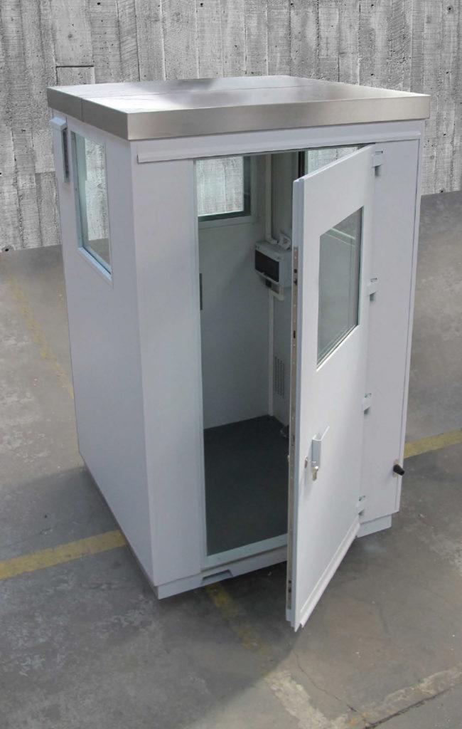 Toltec - tôlerie industrielle au service de la sécurité - GUÉRITES BLINDÉES