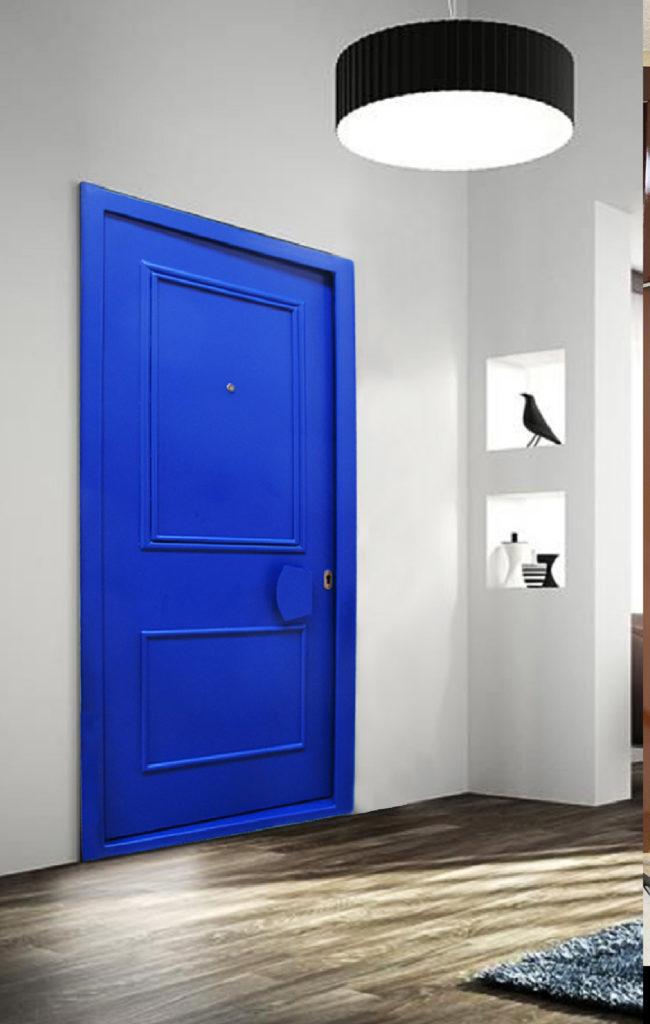 Toltec Secure - tôlerie industrielle au service de la sécurité - Porte SECURE DOOR TS321 certifiée ANTI-BELIER, serrure GUIDOTTI DG 944